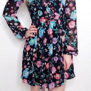 NWOT Size 4 Express Floral Dress